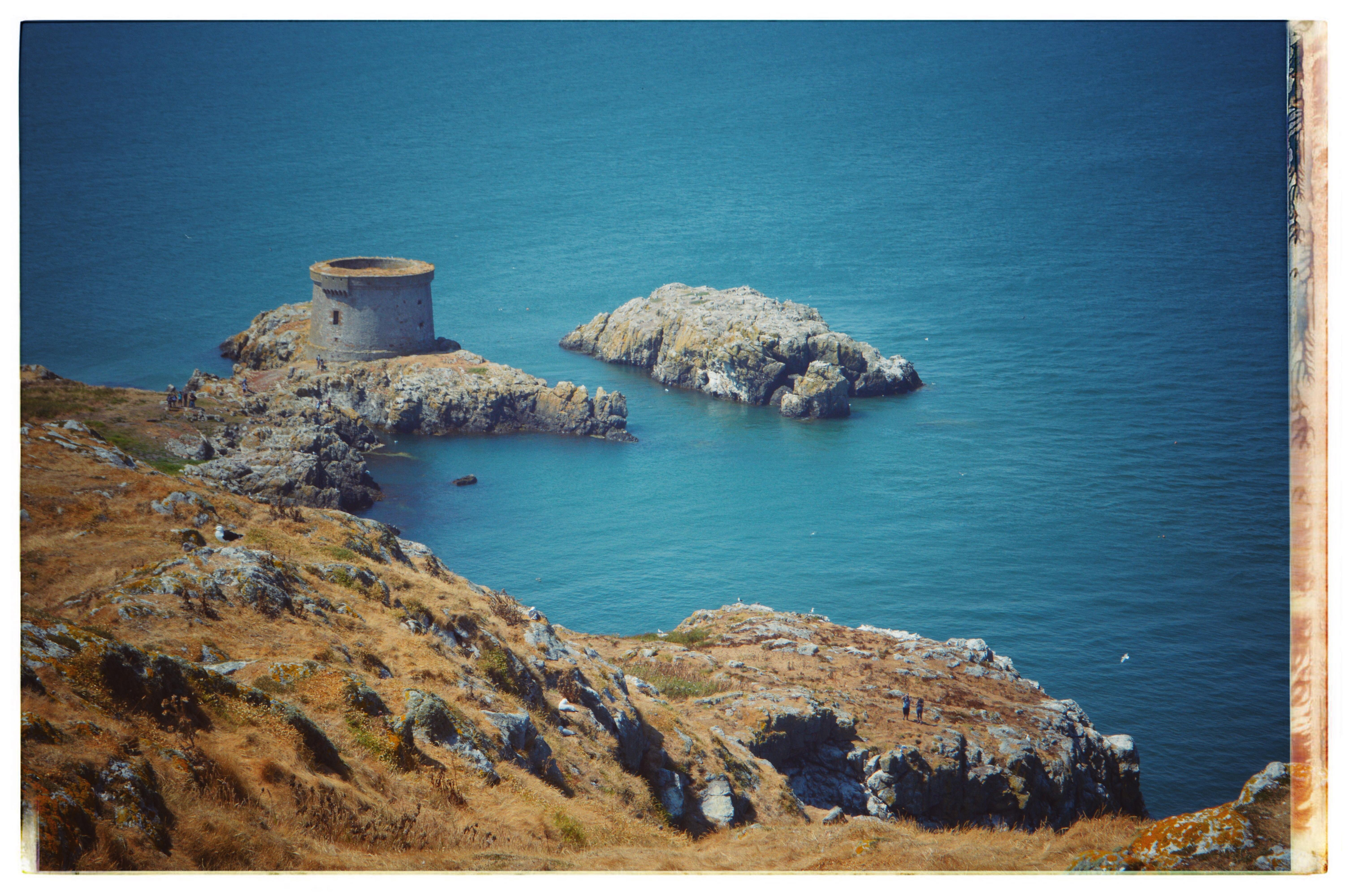 Howth island in Ireland