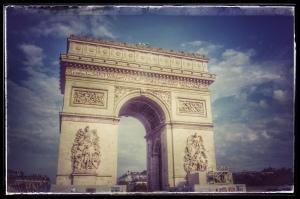 Paris France europe travel adventure city landscape photography wanderlust Arc de triomphe