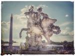 Paris France europe travel adventure city landscape photography wanderlust Angels horses statues concord
