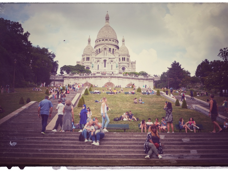 Paris France europe travel adventure city landscape photography wanderlust Montmartre