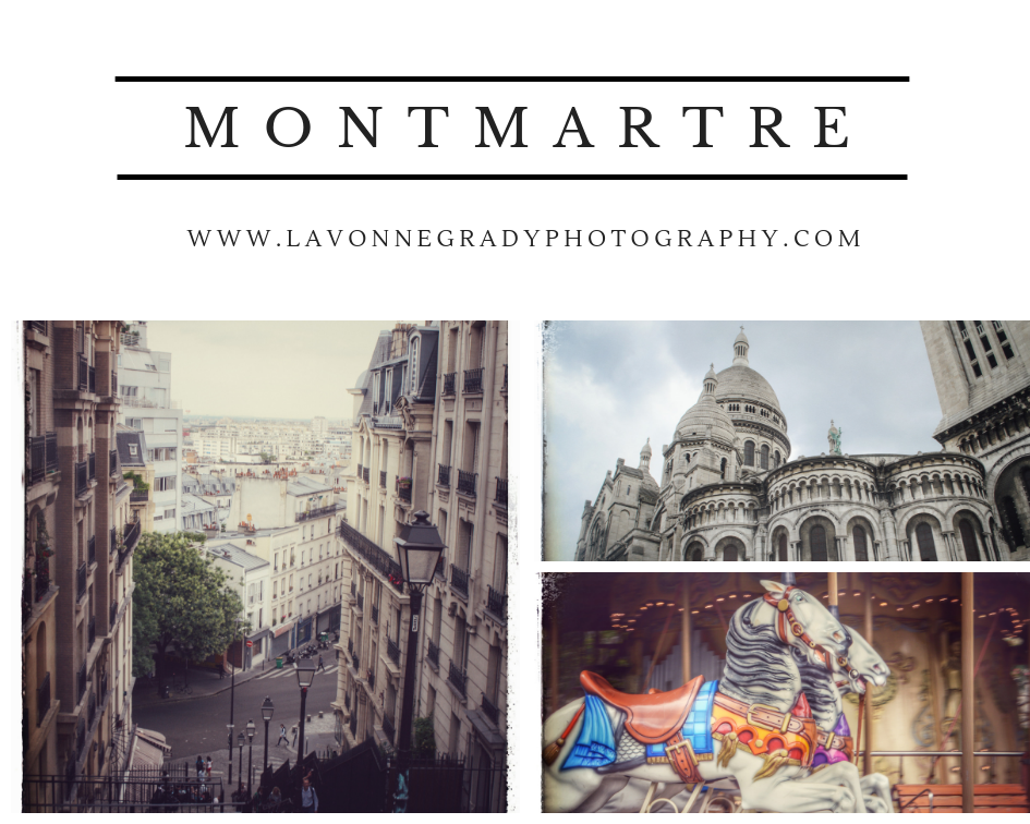 Paris France Montmartre art district traveling Europe with Rheumatoid Arthritis RA patient photography landscape cityscape churches carousels health