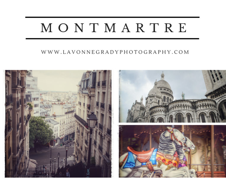 Paris France Montmartre art district traveling Europe with Rheumatoid Arthritis RA patient photography landscape cityscape churches carousels health