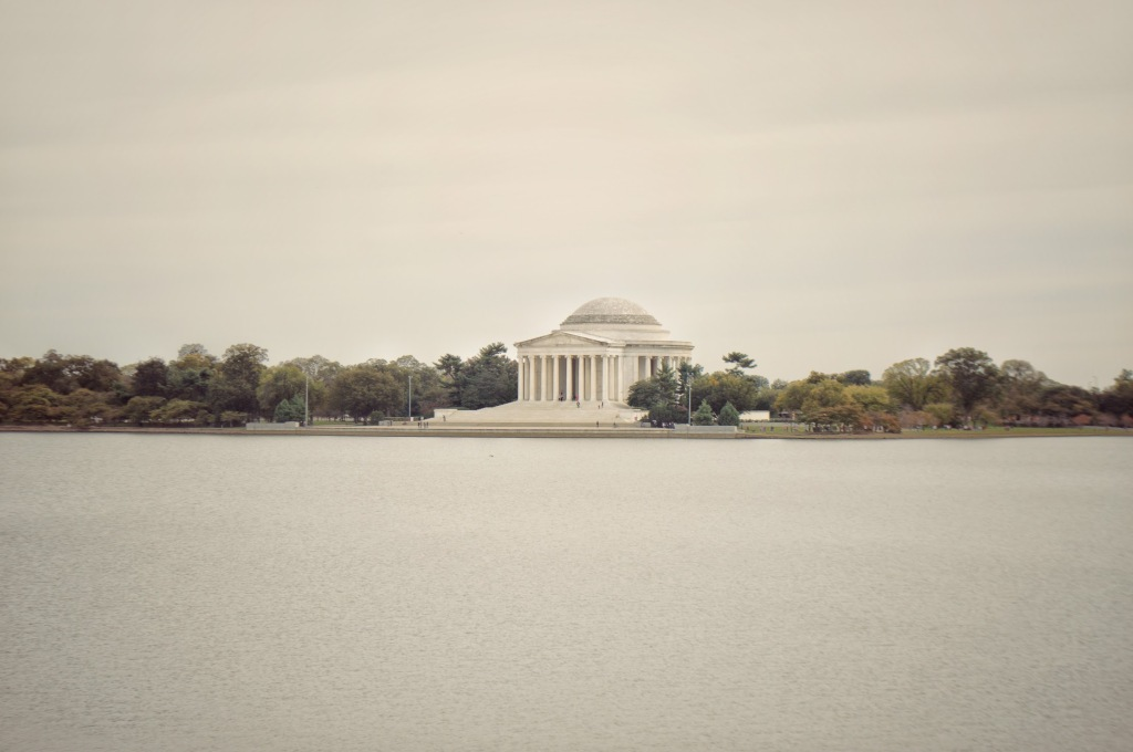 Thomas Jefferson Monument Washington DC, historical building