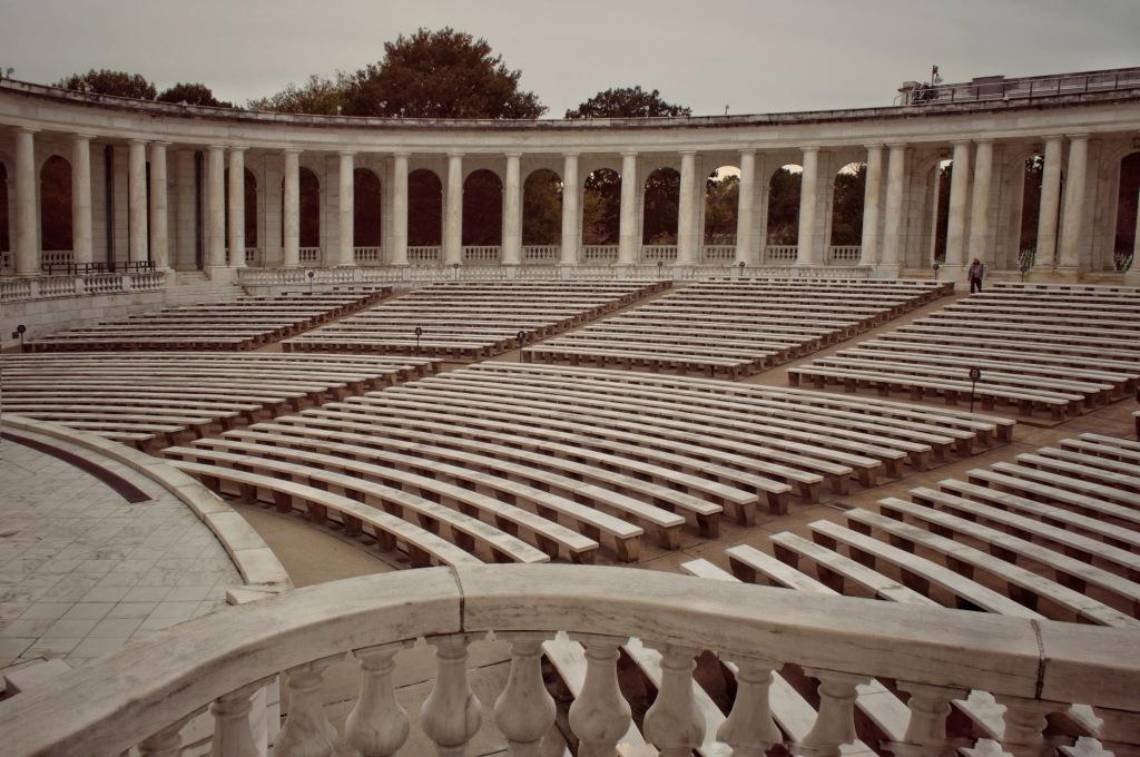 Arlington Memorial Amphitheater, Arlington Cemetery,