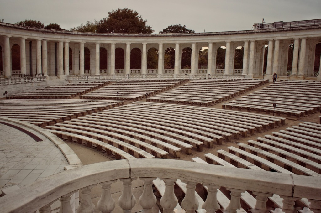 Arlington Memorial Amphitheater, Arlington Cemetery,
